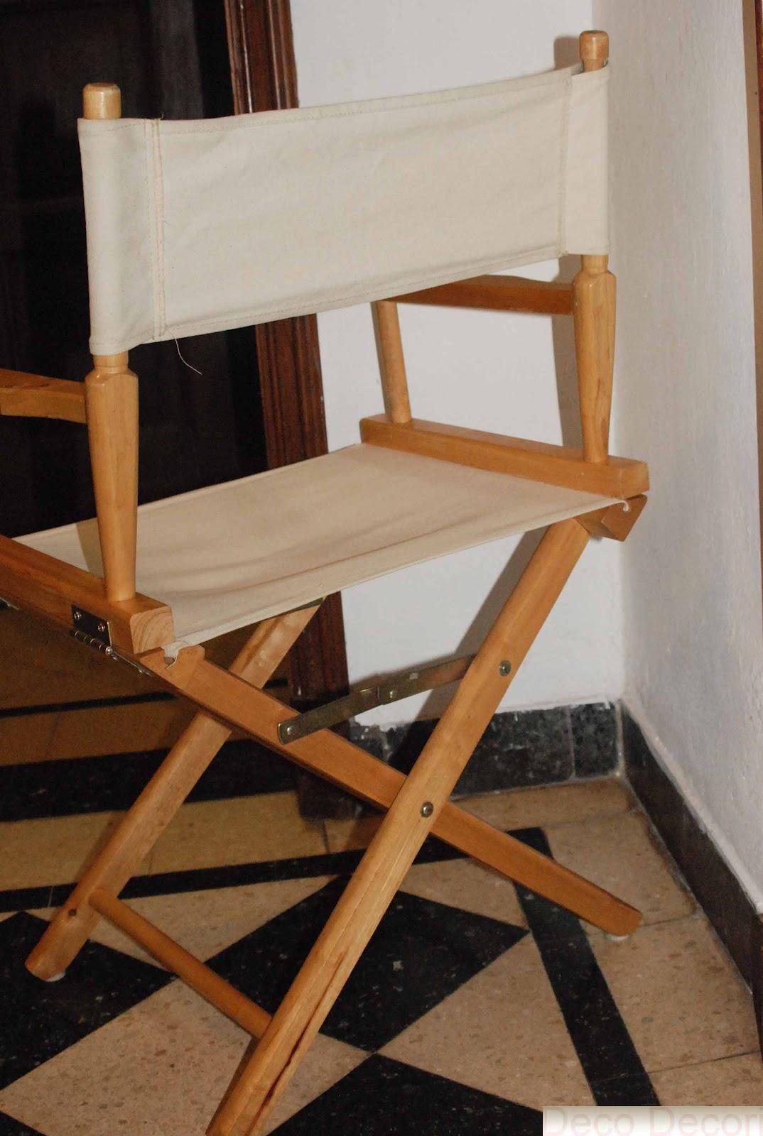 Banquetas y sillas - Sillas de director ...