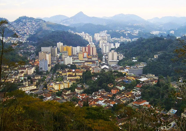 Vista de Petrópolis