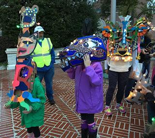 Recycle Masks by graffiti artist Dan Fenlon