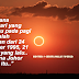 Fakta 'Seram' Disebalik Keindahan Foto Gerhana Matahari Yang Anda Perlu Tahu.. Takutnya