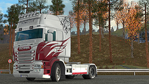 Griffin Flame skin for Scania RJL by EviL