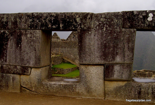 Templo Las Tres Ventanas, Machu Picchu, Peru