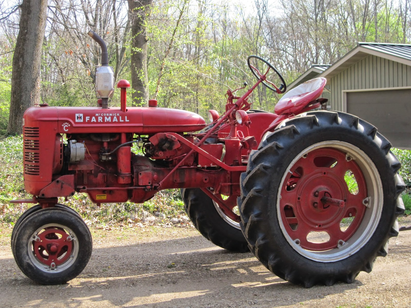 farmall super c implements - photo #2