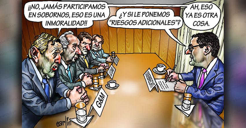 Carlincaturas Jueves 21 Febrero 2019 - La República