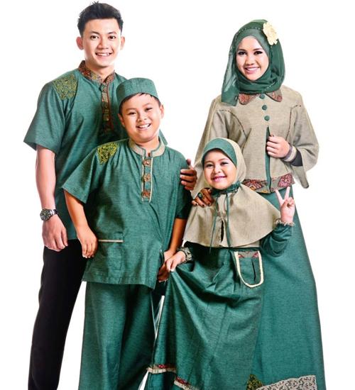 model baju muslim sarimbit