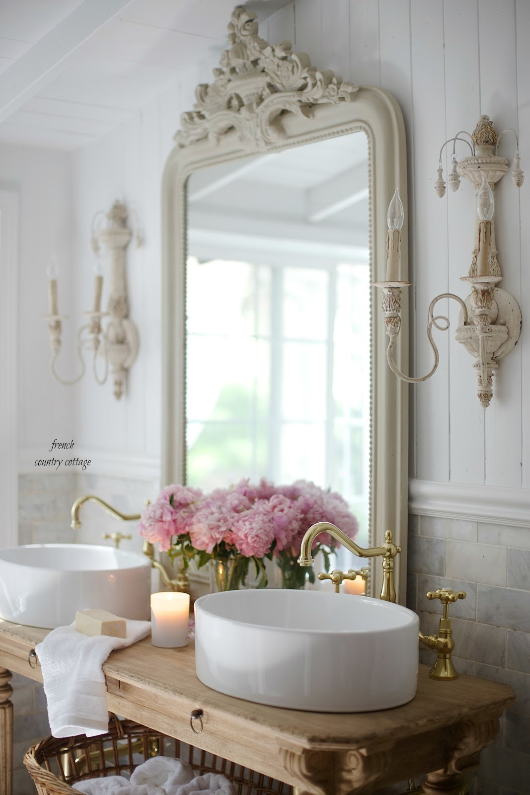French Cottage Bathroom - Favorites in 2017 - FRENCH ... on Rural Bathroom  id=38424