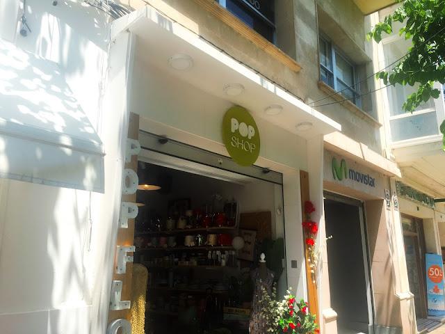 pop shop store front