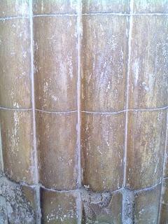 detalle columna templo egipcio