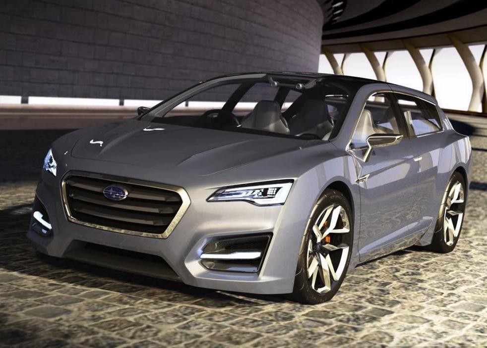 Subaru Advanced Tourer Hybrid Concept Tokyo Show