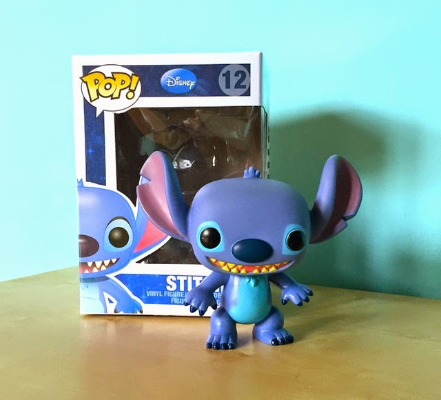 Morgan's Milieu | Pop! Vinyl Figure Review: Photo of Pop! Vinyl Stitch.