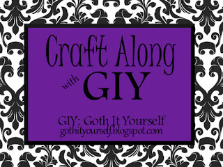 Logo of Craft Along with GIY: Goth It Yourself