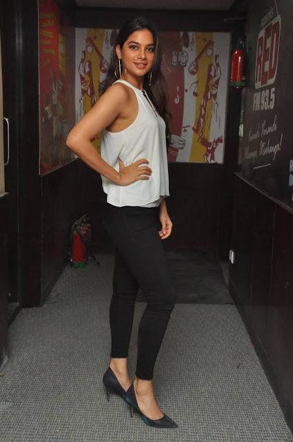 Tanya Hope Stills At Patel SIR Movie Song Launch At Red FM