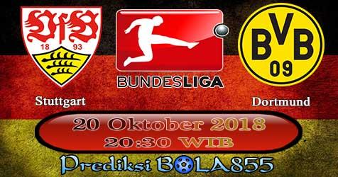 Prediksi Bola855 Stuttgart vs Dortmund 20 Oktober 2018