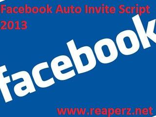 Script Auto Invite Facebook Group Terbaru 2013 | Reaperz