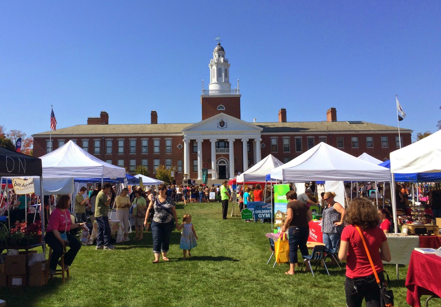 Autumn-fest - New England Fall Events - Bridgewater State quad