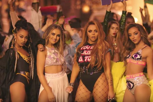 """Little Mix Premiere """"Power"""" Video ft. Stormzy"""