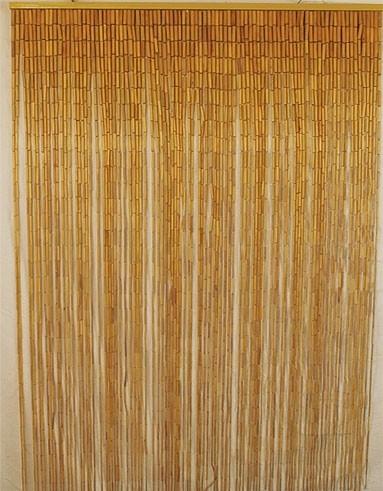Bamboo Beaded Curtain