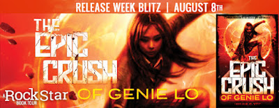 {Excerpt+Giveaway} THE EPIC CRUSH OF GENIE LO by @yeebookauthor @abramskids @PiqueBeyond