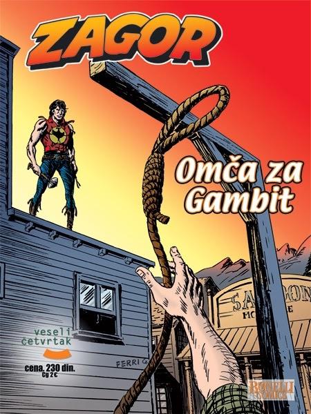 Omca za Gambit [Veseli Cetvrtak] - Zagor