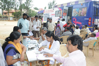 Marwari Yuva Manch Organizes Cancer Detection Camp in R.T Nagar