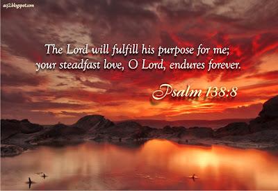 steadfast love endures forever