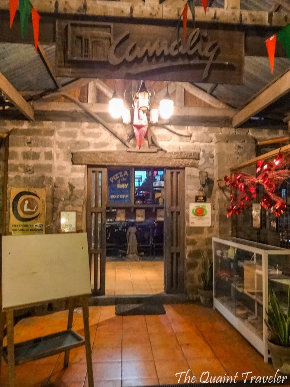 The Quaint Traveler Historic Camalig Restaurant Angeles City