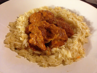 gluten free chicken curry