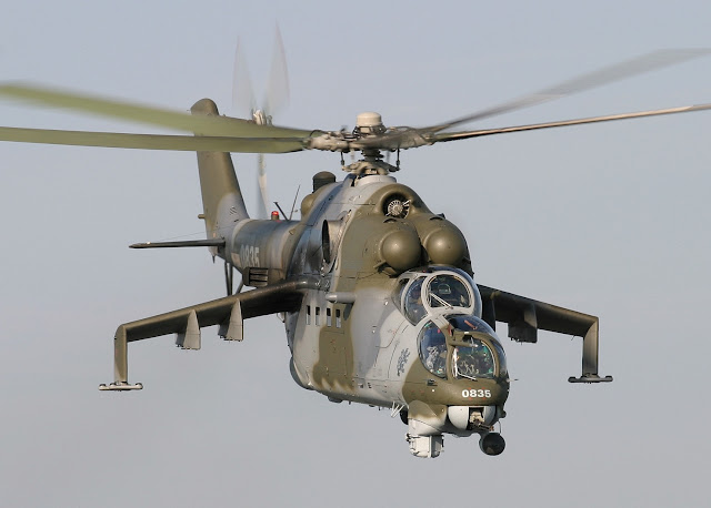 Czech Air Force Mil Mi-24