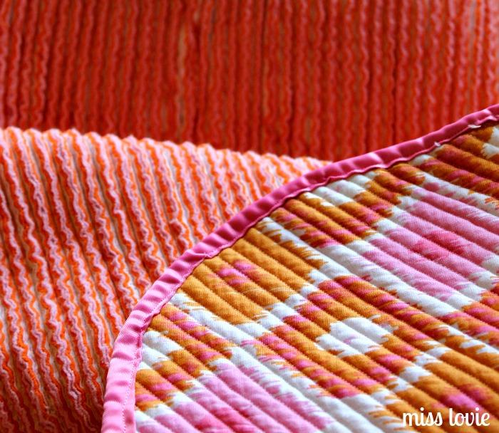 Miss Lovie Faux Chenille Baby Blanket