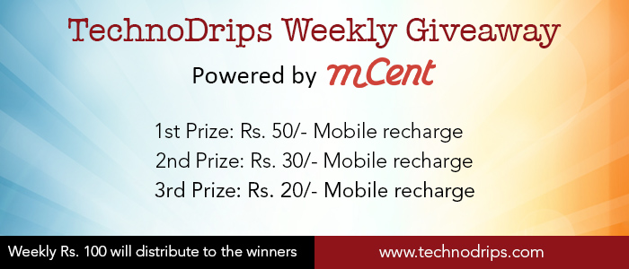 TechnoDrips Giveaway