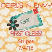 Cards In Envy~Stripes (First Class Card)