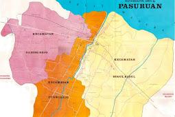 Peta Kota Pasuruan Gambar HD Lengkap dan Keterangannya