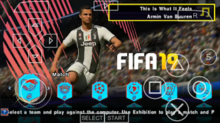 Download PES 2019 v7 PPSSPP English Versions Update January 2019