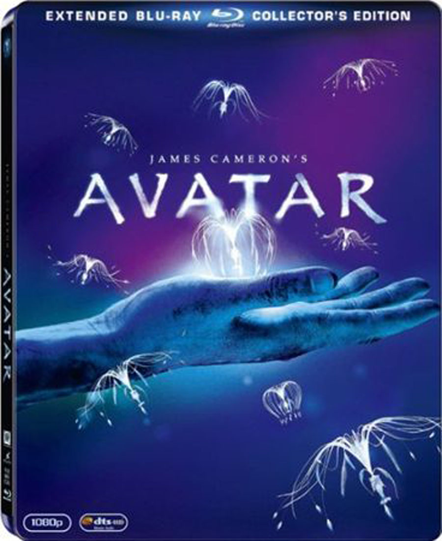 Avatar Movie: Movie Poster And DVD Cover Art