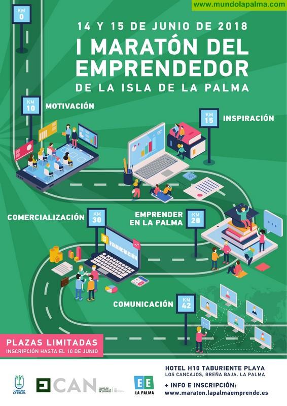 El Cabildo fomenta la creación de empresas y su transformación digital con la primera edición de la 'Maratón del Emprendedor'