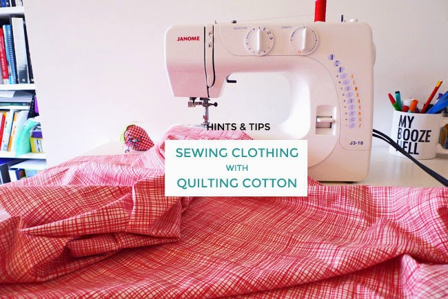 Tilly And The Buttons Sewing Clothing With Quilting Cotton