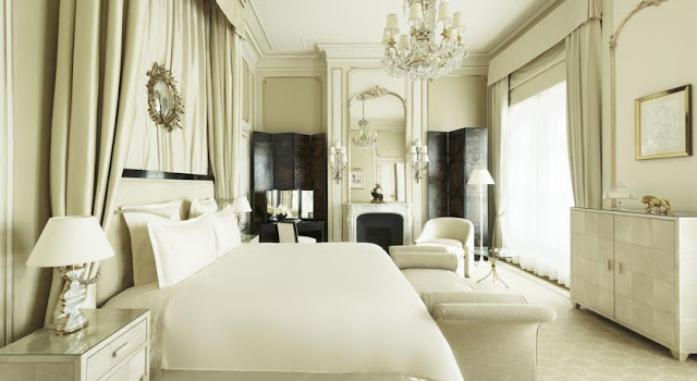 Coco Chanel suite at Ritz Paris