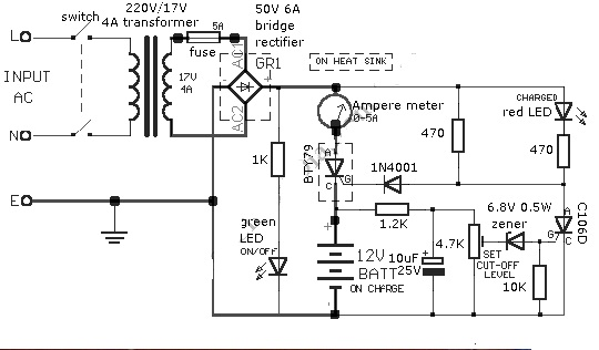 sears battery charger wiring diagram sears battery charger