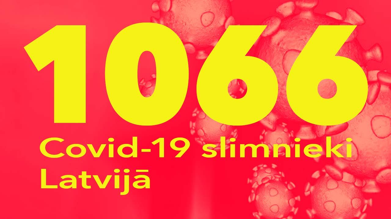 Koronavīrusa saslimušo skaits Latvijā 31.05.2020.