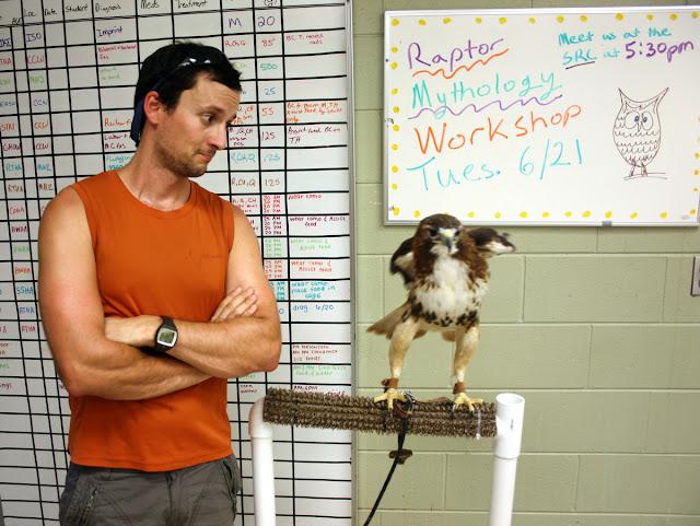 raptor environmental education