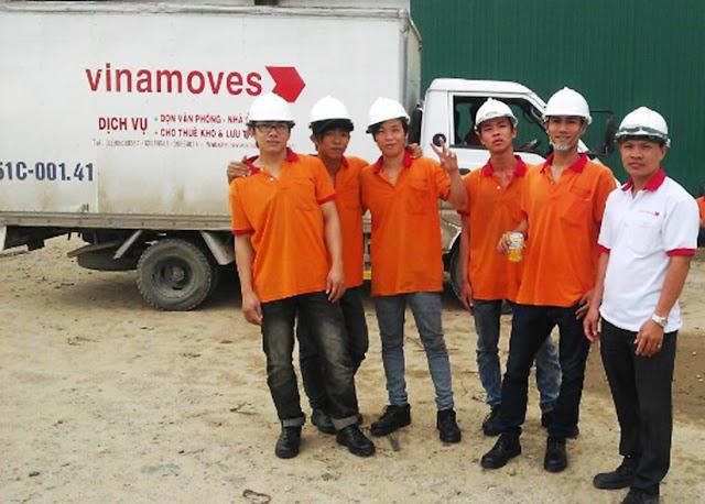 Chuyển kho xưởng Vinamoves