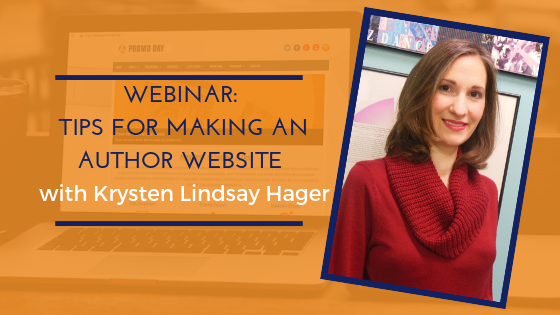 Tips For Making An Author Website with Krysten Lindsay Hager