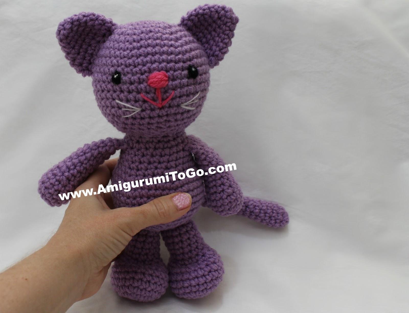 Little Bigfoot Kitty ~ Amigurumi To Go
