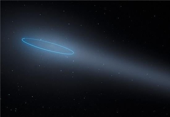 Descoberto um tipo único de objeto no Sistema Solar