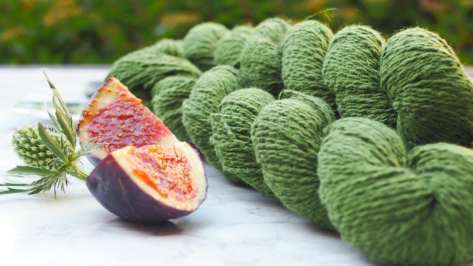 Pascuali Nepal in grün - Garn aus Brennesselfasern vegan