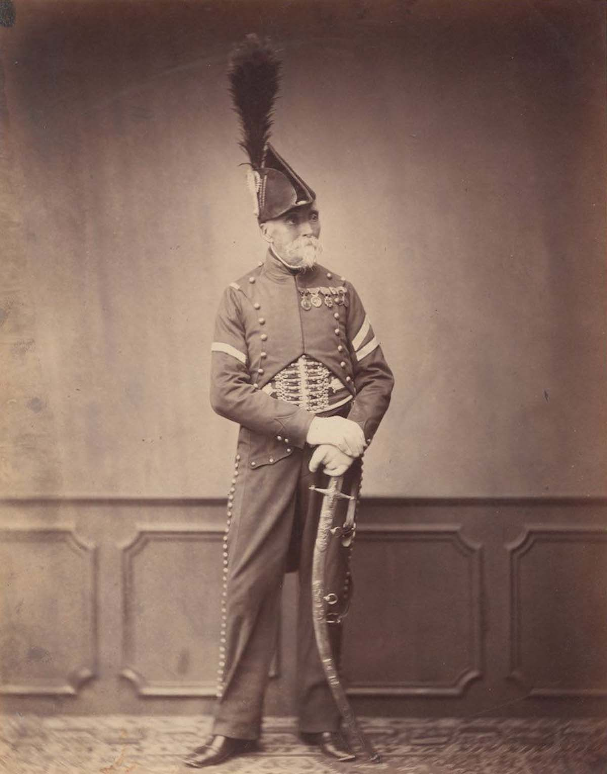 Monsieur Dupont who was fourier for the 1st Hussar.
