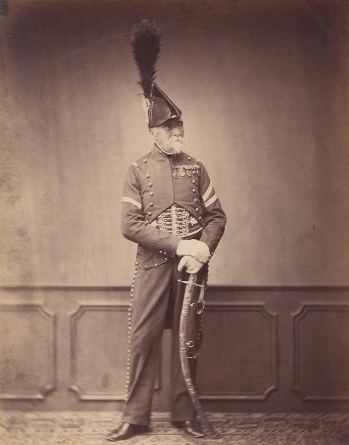 Monsieur Dupont que fue fourier para el 1er Hussar.