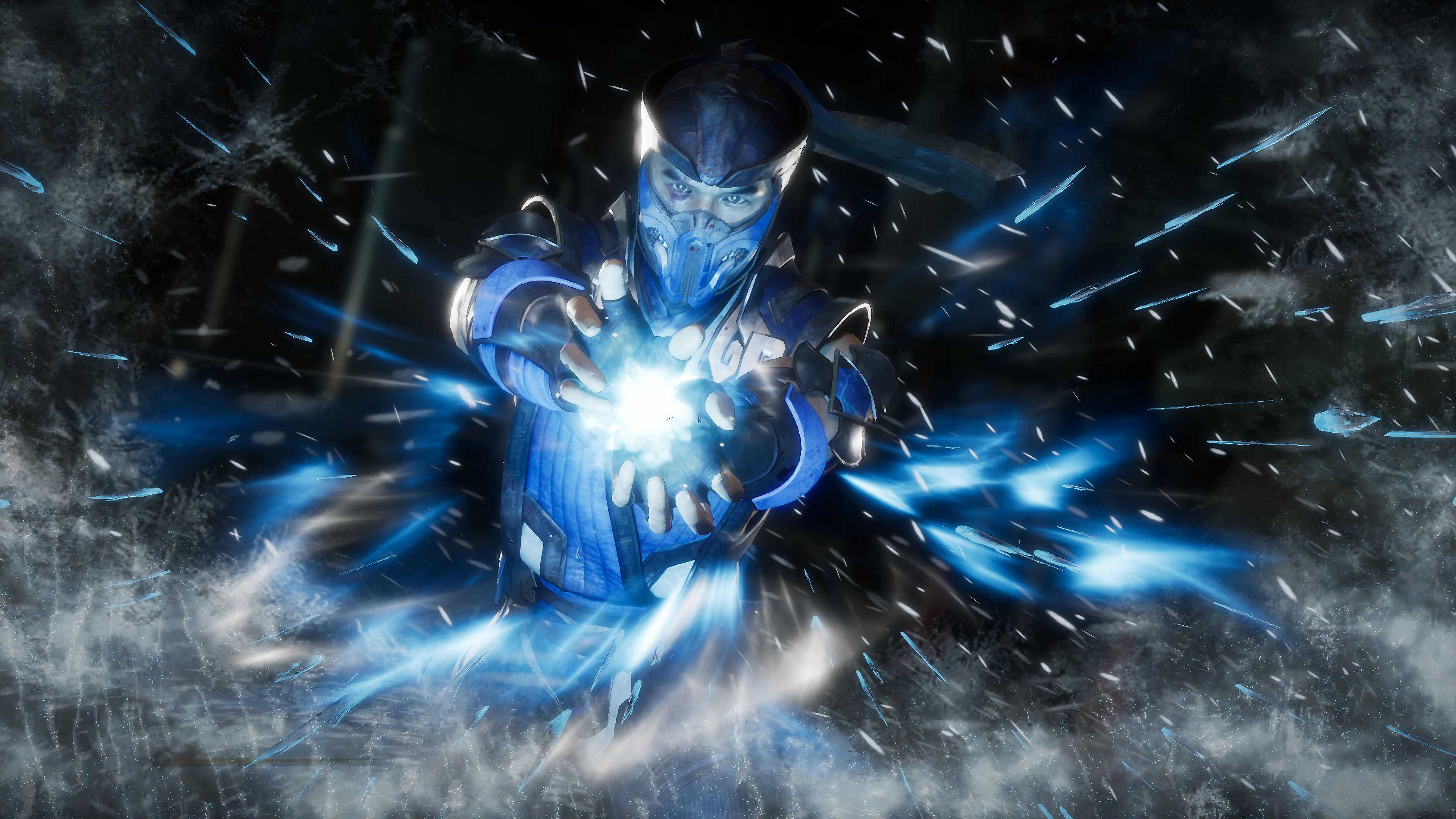 Sub Zero Mortal Kombat 11 4k Wallpaper 200