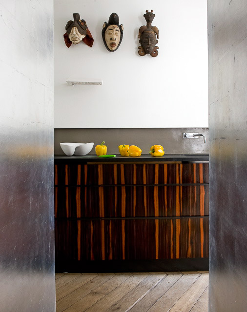 african decorating ideas for kitchen | Kitchen of the Week, Think outside the box