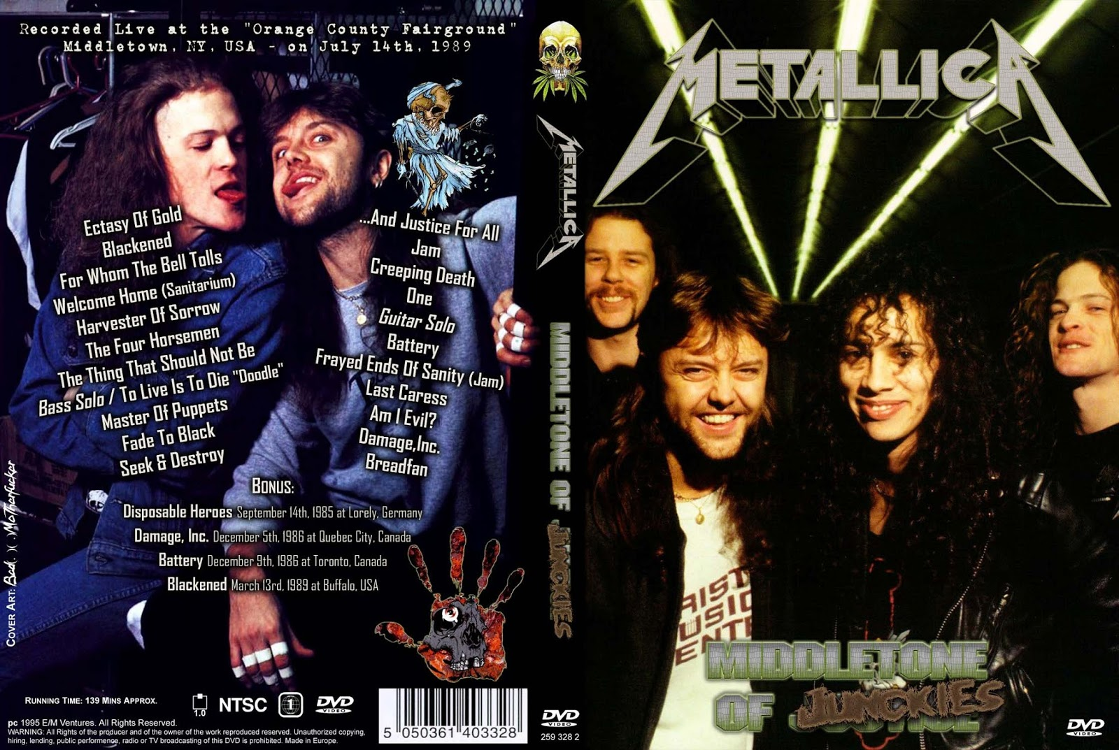 Group of Metallica Live 111